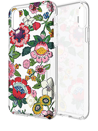 Vera Bradley Coral Floral Flexible Frame iPhone XS/X Case