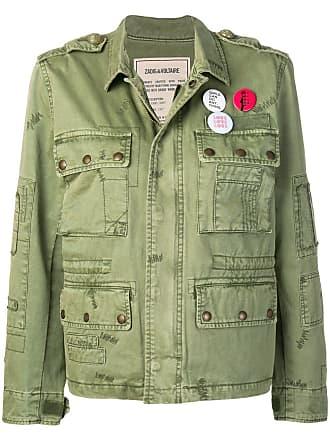 Zadig & Voltaire Krisy grunge parka jacket - Green