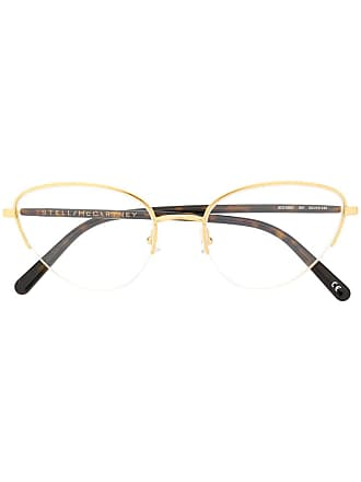 Stella McCartney half frame glasses - Gold