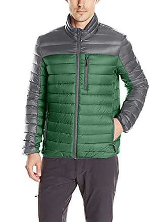 ZeroXposur Mens Relay Packable Sweater Down, Forest, XXL