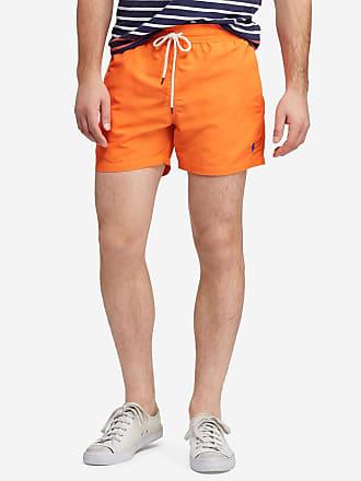 a4f45c71ef Polo Ralph Lauren Short de bain mi-long siglé Orange Polo Ralph Lauren
