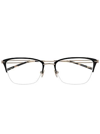 Calvin Klein Armação de óculos metálica - Preto