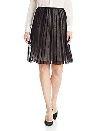 Nic+Zoe Womens Batiste Skirt, Black Onyx, 12