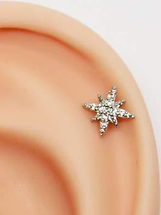 Eu Curto Acessórios Piercing Star Shine Cravejado