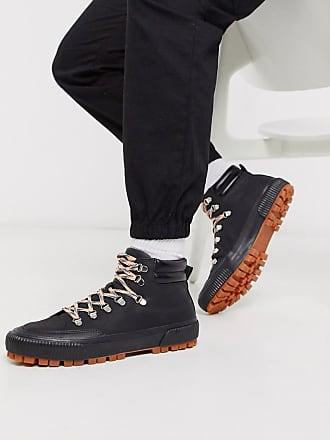 Truffle hiker boot trainer in black