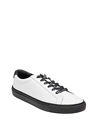 Guess Mens BARETTE2 Slide Sandal, White, 10 Medium US