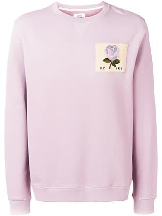 Kent & Curwen Moletom com patch de rosa - Roxo