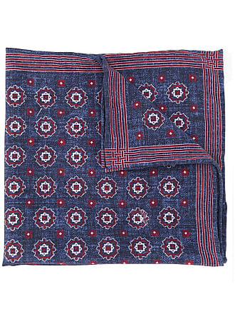 Brunello Cucinelli patterned scarf - Azul