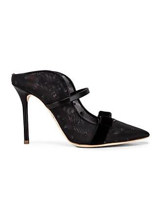 Malone Souliers Marguerite Heel in Black