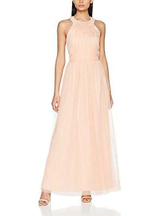 Little Mistress Sherbet Open Back Maxi Dress with Floral Applique Vestito  Elegante Donna c51060d3896