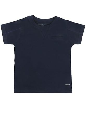 Tigor T. Tigre Camiseta Tigor T. Tigre Manga Curta Menino Azul-Marinho