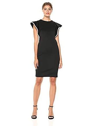 Black and White Sheath Dress
