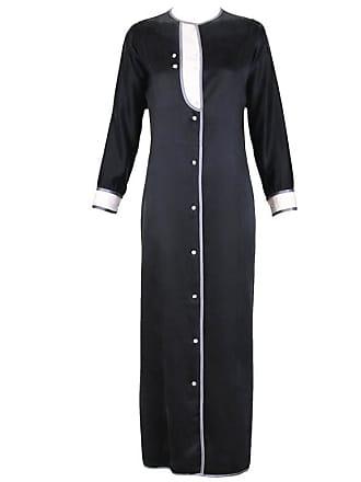 ecc0674157 Geoffrey Beene 1970s Geoffrey Beene Satin Tuxedo Dress W crystal Buttons    Silver Trim