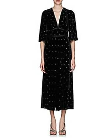 f628998d450f Fendi Womens Studded Velvet Cocktail Dress - Black Size 40 IT