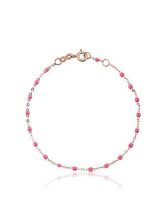 Gigi Clozeau Pulseira de ouro rosê - Rosa