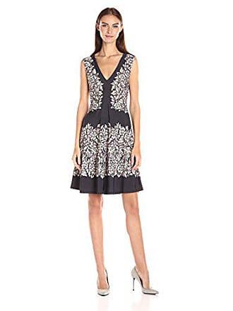 Bcbgmaxazria BCBGMax Azria Womens Vallarie Knit City Dress, Charcoal Combo, S