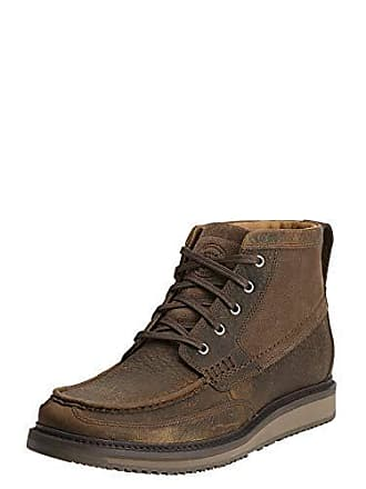 Ariat Ariat Mens Lookout Western Chukka Boot, Earth/Stone Suede, 8.5 2E US