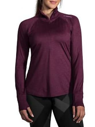 Brooks Womens Dash Half-Zip Running Shirt
