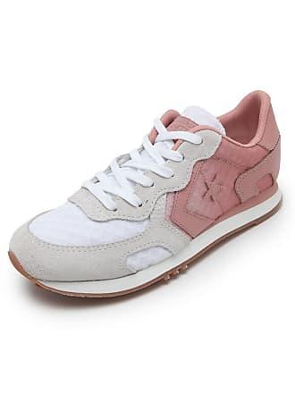 6ae1c4600df Converse Tênis Couro Converse Thunderbolt Branco Rosa