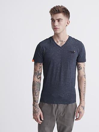 Superdry T-shirt Vintage in cotone biologico con scollo a V della linea O