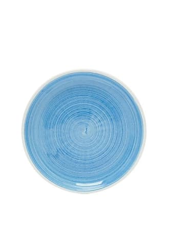 Summerill & Bishop Brushed Ceramic Side Plate - Light Blue