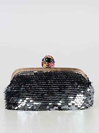 12bd0f83302a4 Dolce   Gabbana Clutch con Paillette e Dettagli Gioiello taglia Unica