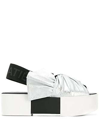 05e0437a1cd Vic Matié colour block platform sandals - Metallic
