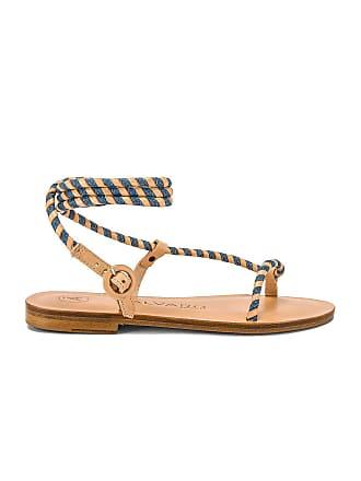 ÁLVARO GONZÁLEZ Arizona Sandal in Beige