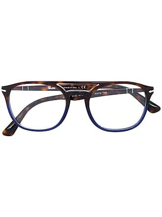 Persol Armação de óculos aviador - Marrom