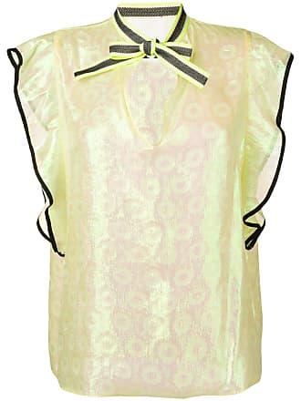 8pm Giallo Paglia blouse - Yellow