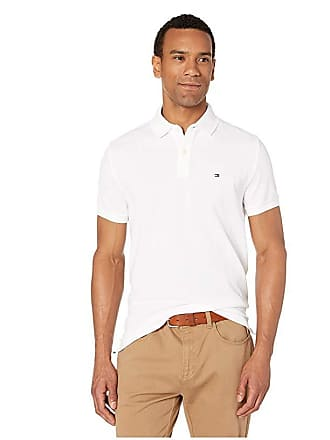 1f6caa0f Tommy Hilfiger Ivy Polo Shirt Custom Fit (Bright White) Mens Clothing