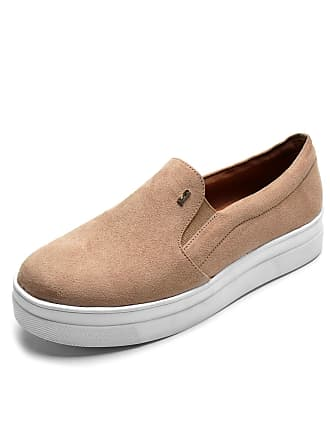 Santa Lolla Slip On Santa Lolla Suede Bege