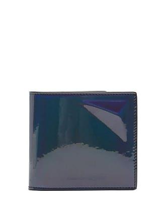6848225ff0ea2 Alexander McQueen Alexander Mcqueen - Iridescent Leather Wallet - Mens -  Black Multi