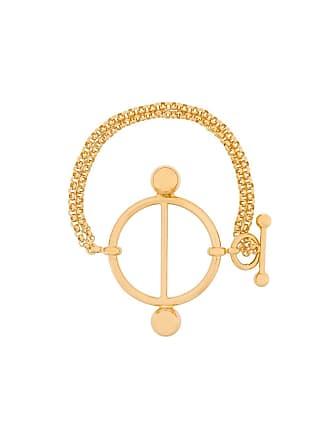 J.W.Anderson Bracelete Disc - Dourado