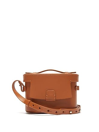 Nico Giani Frera Mini Matte Leather Cross Body Bag - Womens - Tan