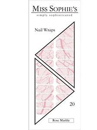 Miss Sophies Nails Nail Foils Nail Wraps Rose Marble 20 Stk