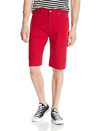 ebeeec3527e Levi's Mens 569 Loose Straight Short, Scooter Red Bull Denim - Stretch, ...