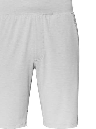 ea943452abe Under Armour Recovery Sleepwear Slim-fit Mélange Stretch Tech-jersey Shorts  - Gray