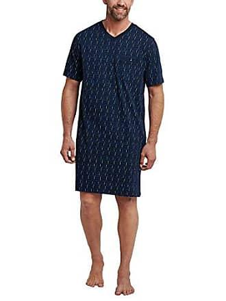 6d404f6c70 Schiesser Herren Nachthemd Kurz Einteiliger Schlafanzug