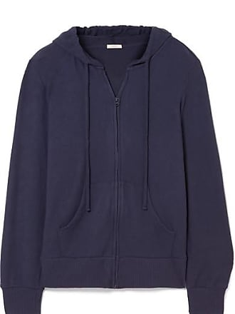 Eberjey The Cozy Modal-blend Hoodie - Navy
