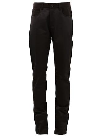 Yang Li straight trousers - Preto