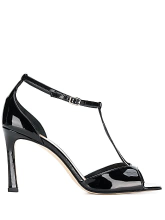The Seller v strap sandals - Preto
