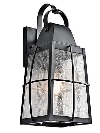 Kichler Outdoor Wall 1 Light in Textured Black