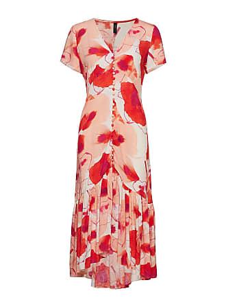 03d62ef40daa9b Vero Moda Yasnilana Ss Midi Dress
