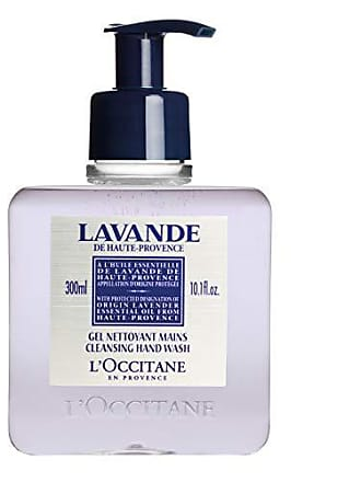 L'Occitane Cleansing Lavender Liquid Hand Soap with Lavender Essential Oil, 10.1 fl. oz