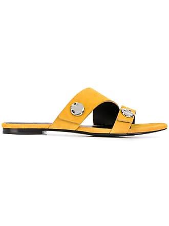 61ef2853d11 3.1 Phillip Lim Drum embellished slides - Yellow
