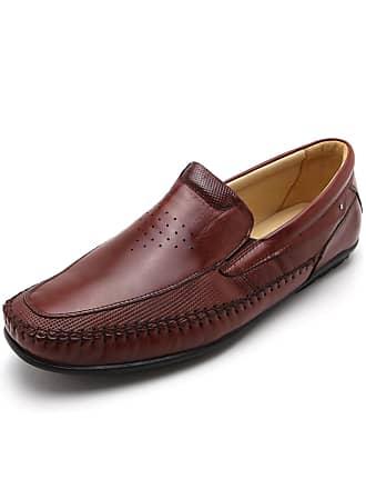 Rafarillo Sapato Couro Rafarillo Liso Marrom