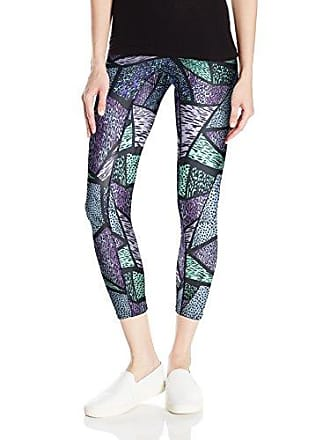 Hue Womens Made to Move Geo Animal Active Shaping Skimmer Leggings, Multi, X-Large