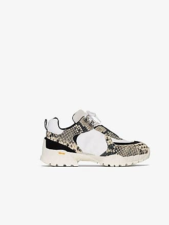 Alyx snake-effect leather panelled sneakers