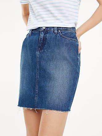 a2ae22a9c0b3ff Tommy Hilfiger Slim fit mini-spijkerrok
